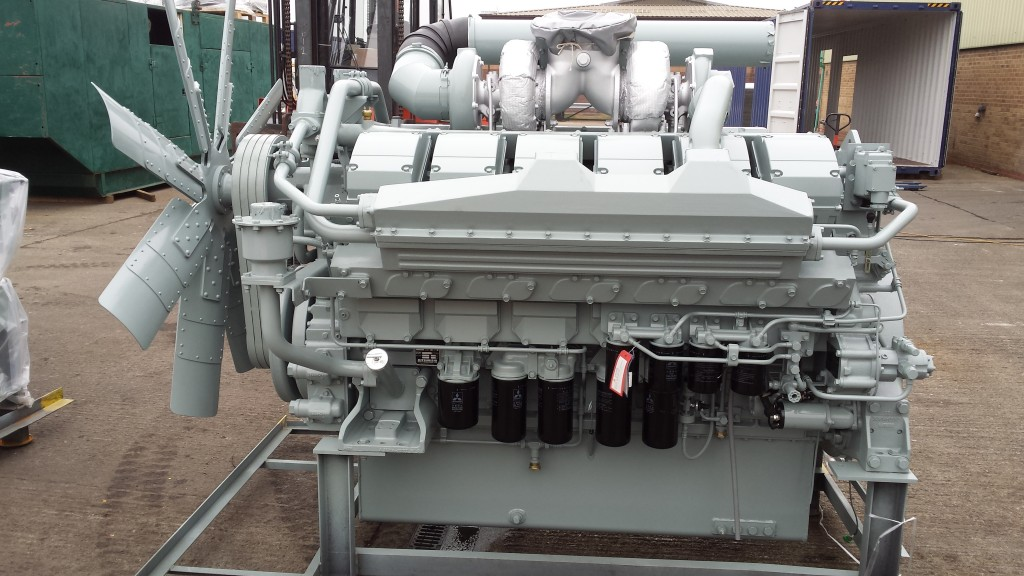 Today's Mitsubishi S12H-PTA engines delivery
