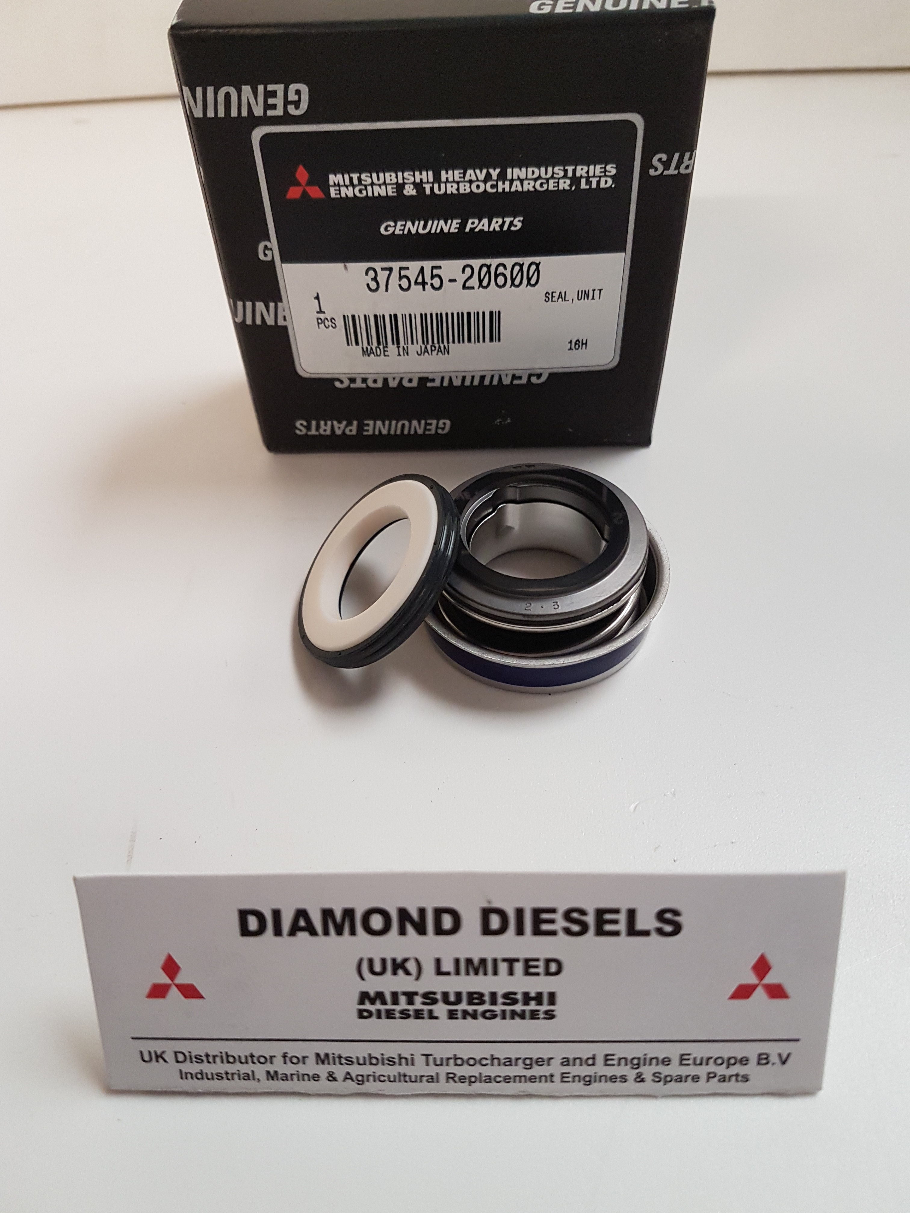 3754520600 Water Pump Mechanical Seal - S6B/S6R/2 engines